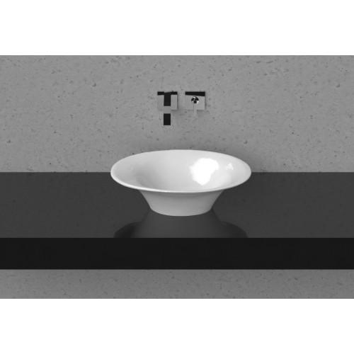 Vispool Fiore akmens masės praustuvas 580*380 mm