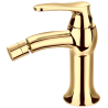 Omnires Art Deco Gold bidė maišytuvas aukso spalvos