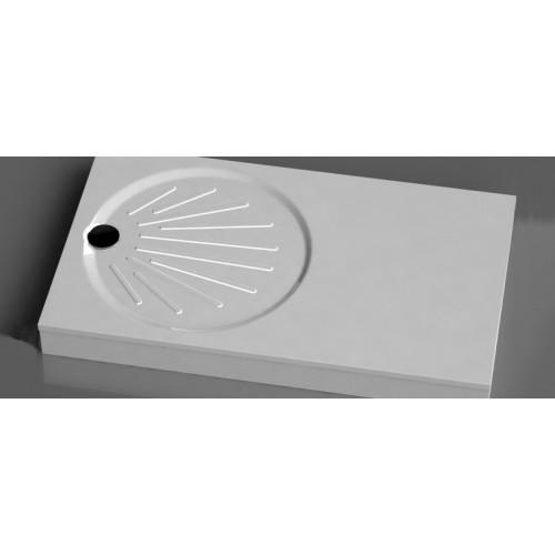 Vispool OZ-150 stačiakampis akmens masės dušo padėklas 1500*900 mm