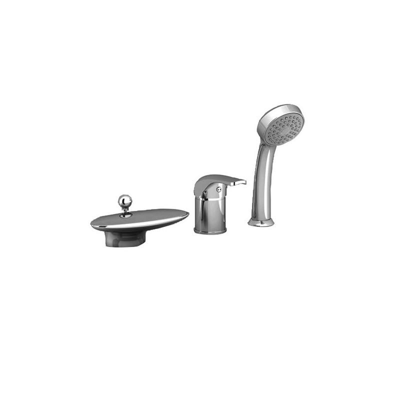 Ravak Rosa 4 dalių maišytuvas voniai