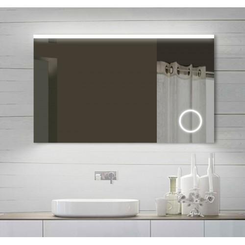 Vonios kambario veidrodis Lux-Aqua SPM102X70DP, su LED apšvietimu, 1020*700 mm