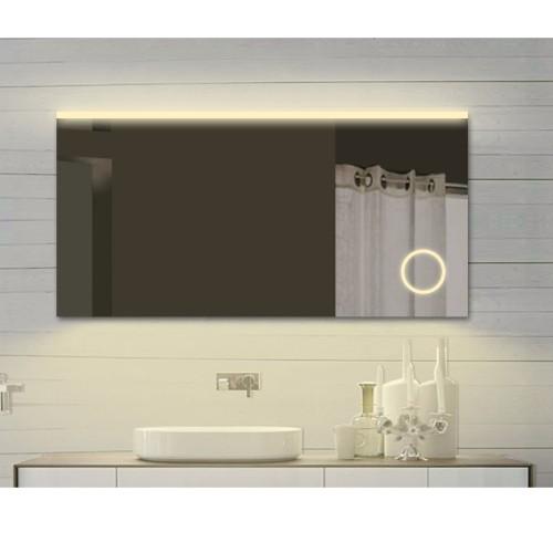 Vonios kambario veidrodis Lux-Aqua SPM122X70DP, su LED apšvietimu, 1220*700 mm