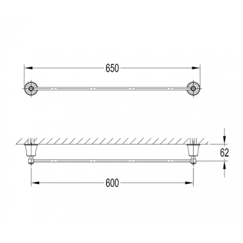 Art Line AL53216 CR rankšluosčių kabykla