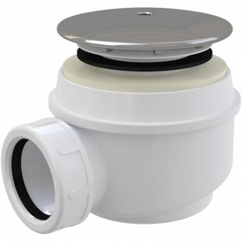 Sifonas dušo padėklui Alca Plast A47CR su chromuotu ventiliu 60mm