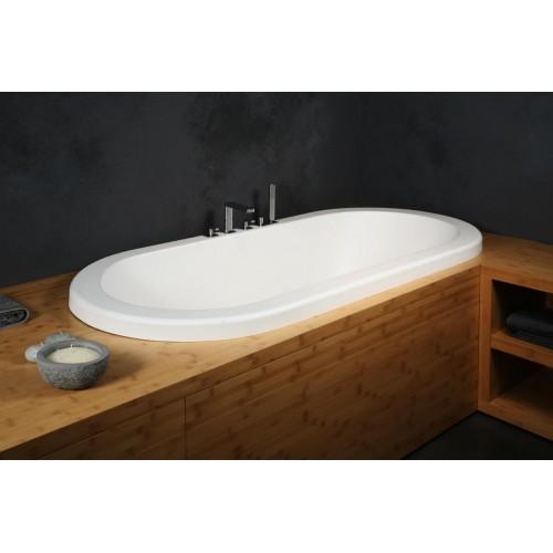 PAA Andante įleidžiama vonia 1900x900 mm