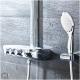 Termostatinė dušo sistema Rainshower SmartControl 360 Duo su rankiniu dušiuku Power&Soul 115