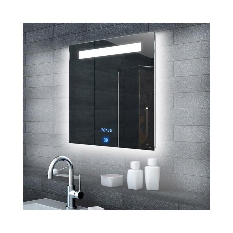 Veidrodis Lux-Aqua ML6506, su LED apšvietimu, 600*650 mm
