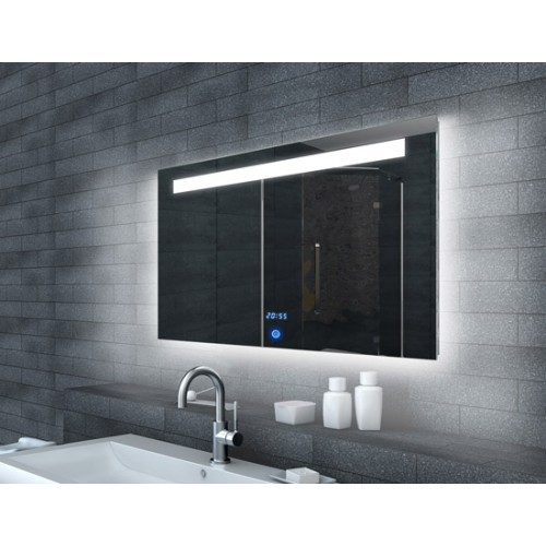 Veidrodis Lux-Aqua ML6510, su LED apšvietimu, 1000*650 mm