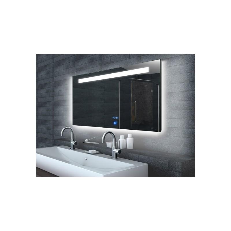 Veidrodis Lux-Aqua ML6514, su LED apšvietimu, 1400*650 mm