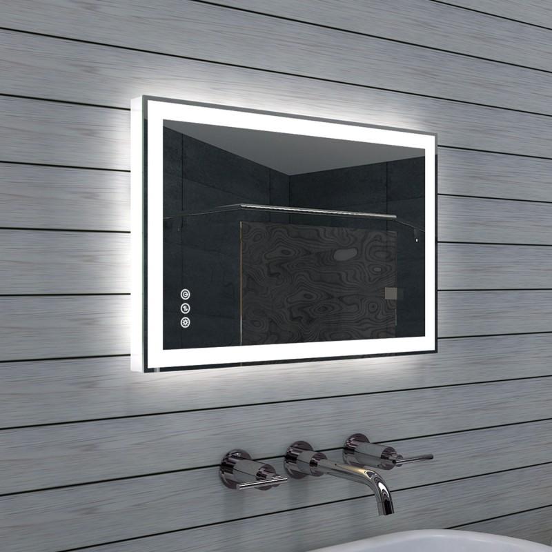 Veidrodis Lux-Aqua ML60B40H, su LED apšvietimu, 600*400 mm