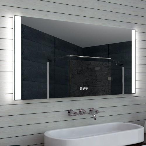 Veidrodis Lux-Aqua MLO140L70H, su LED apšvietimu, 1400*700 mm