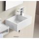 Lux-Aqua 4331 mažas praustuvas kabinamas ant sienos, 370*235 mm