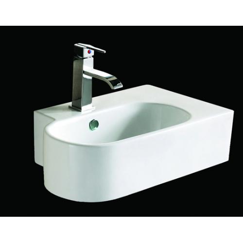 Lux-Aqua praustuvas 4995 kabinamas ant sienos, 675*440 mm