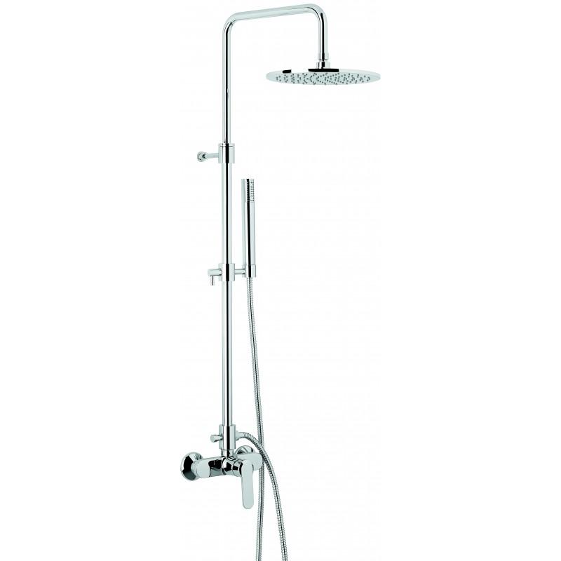 Emmevi Nefer virštinkinė dušo sistema su metaline dušo galva Ø 250 mm, CR7700284