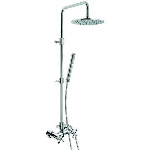Emmevi Spirit New virštinkinė dušo sistema su metaline dušo galva Ø 250 mm, CR3100284