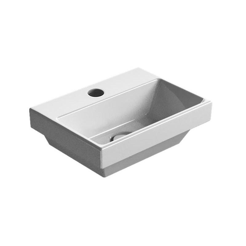 GSI Norm 8650111 mažas praustuvas su EXTRAGLAZE® danga, 35*26 cm