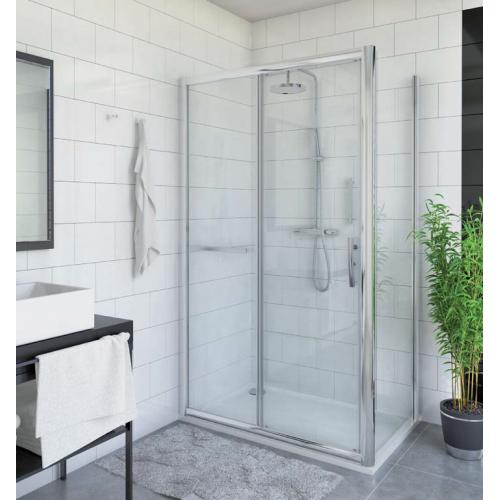 Roth PXD2N + PXBN stačiakampė dušo kabina su stumdomomis durimis