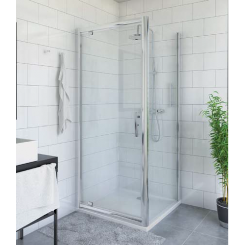 Roltechnik PXDO1N + PXBN kvadratinė dušo kabina