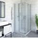 Roth PXS2L + PXS2P kvadratinė dušo kabina su slankiojančiomis durimis