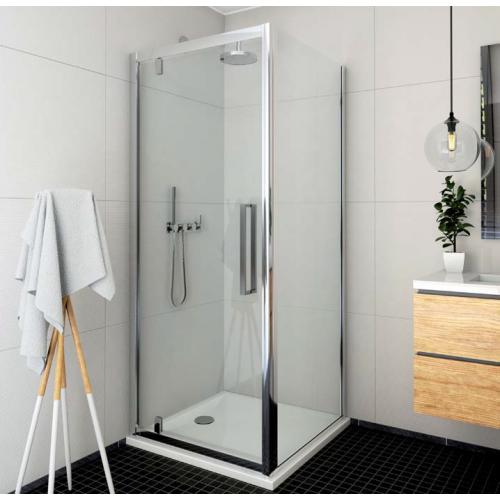 Roltechnik ECDO1N + ECDBN kvadratinė dušo kabina