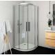 Roth ECR2N pusapvalė dušo kabina su slankiojančiomis durimis