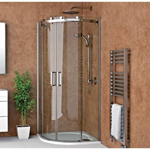 Roth AMR2N pusapvalė dušo kabina su slankiojančiomis durimis
