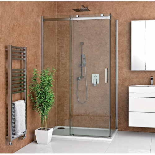 Roth AMD2 + AMB stačiakampė dušo kabina su slankiojančiomis durimis