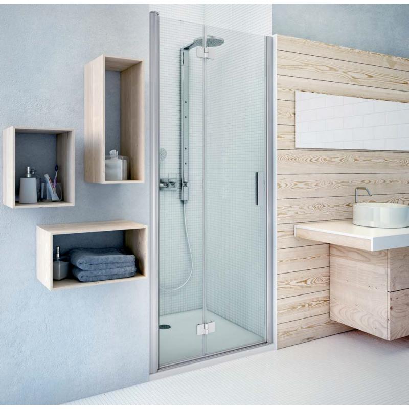 Roth TZNL1 / TZNP1 sulankstomos dušo durys skirtos montavimui į nišą