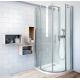 Roth TR2 LIGHT pusapvalė dušo kabina su dviejų elementų atveriamomis durimis, 900*900 mm