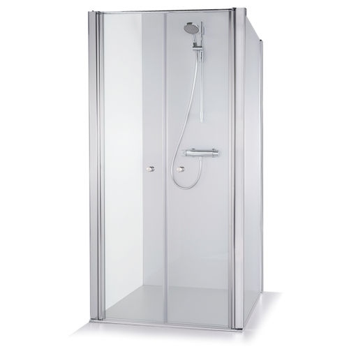 Baltijos Brasta kvadratinė dušo kabina Erika 1000*1000 mm