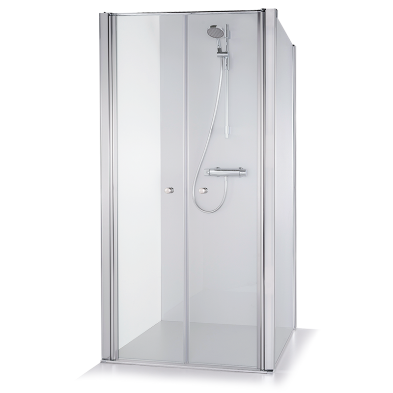 Baltijos Brasta kvadratinė dušo kabina Erika 800*800 mm