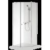 Brasta Glass penkiakampė dušo kabina Lina 100x100 cm, stiklo spalva pasirinktinai