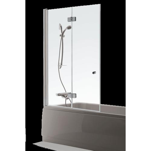 Brasta Glass vonios sienelė Berta 110x150cm, stiklo spalva pasirinktinai