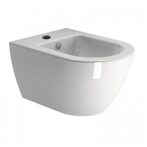 GSI Pura Compact pakabinama bidė 8864111, EXTRAGLAZE® keramikinė glazūra