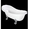 Omnires Marble+ vonia iš lieto marmuro Atena, 157*76 cm