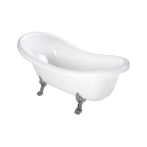 Omnires Marble+ vonia iš lieto marmuro Atena, 168*76 cm