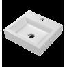 Omnires Marble+ Thasos 360 ant stalviršio montuojamas praustuvas 420*360 mm