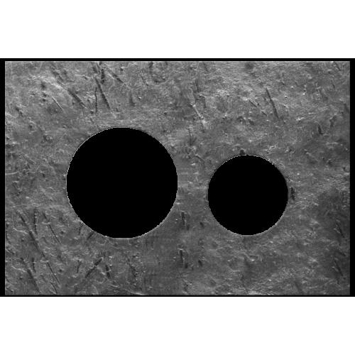 TECEloop akmens masės nuleidimo klavišo paviršius