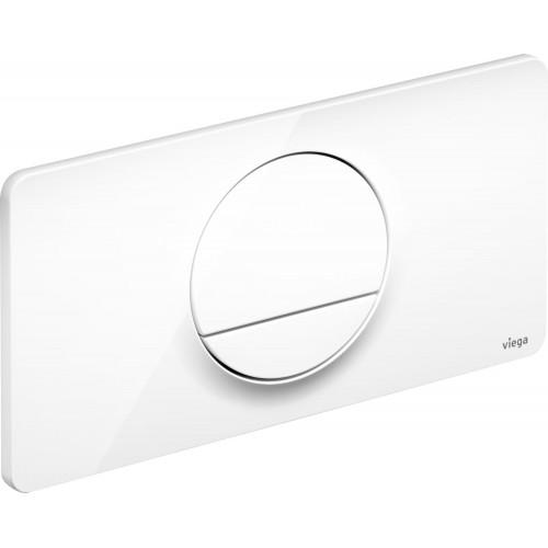 VIEGA Visign13 vandens nuleidimo mygtukas, baltas, 654498
