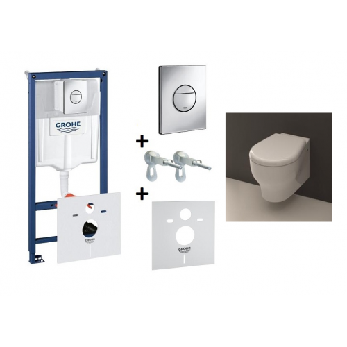 Grohe ir Kerasan K09 potinkinis WC komplektas