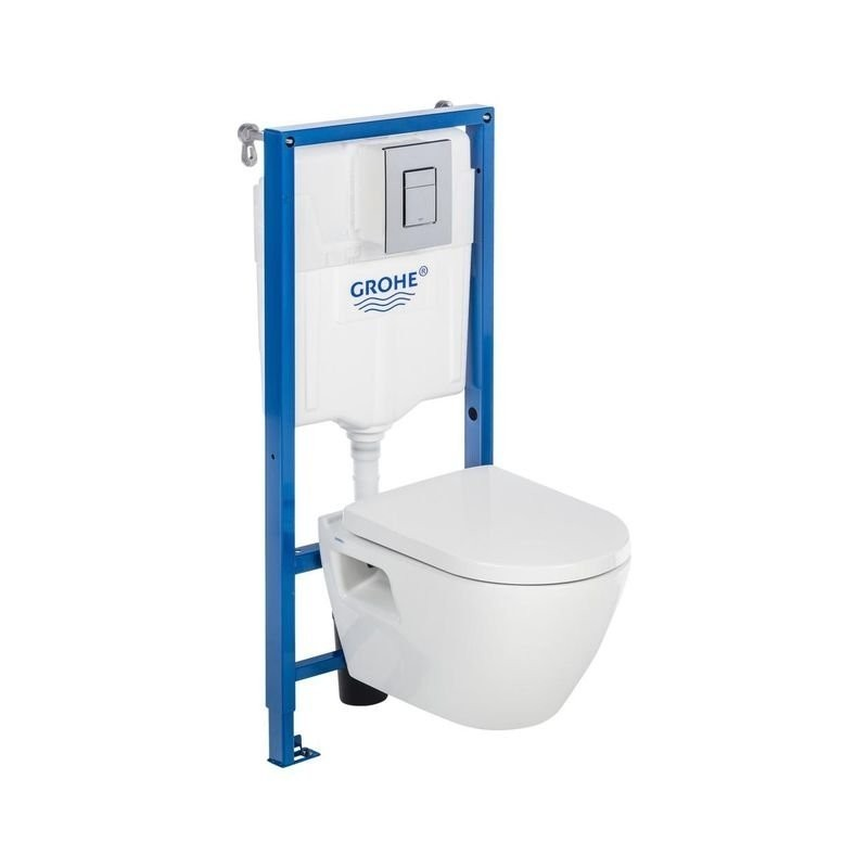 Grohe WC rėmo ir pakabinamo klozeto Grohe Serel One su soft close dangčiu komplektas
