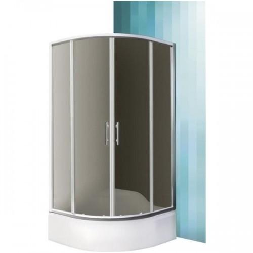 SaniPro Madison Neo pusapvalė dušo kabina 800*800mm