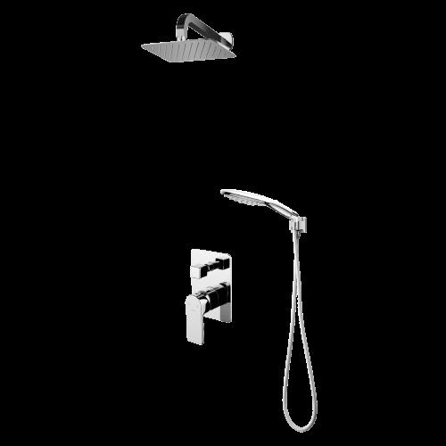 Potinkinė dušo sistema Omnires Baretti SYS BA10 CR