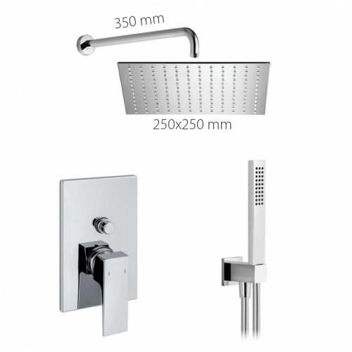 Potinkinė dušo sistema ALPI UNA SWK18A1863CR