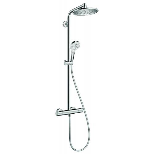 Termostatinis dušo komplektas HANSGROHE Crometta S Showerpipe 240