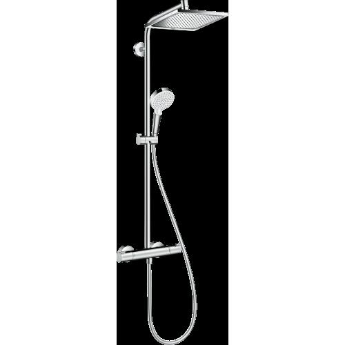 Termostatinis dušo komplektas HANSGROHE Crometta E 240 1 jet Showerpipe