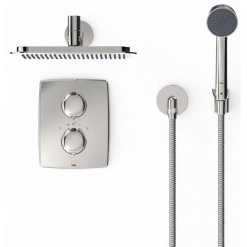 Oras Optima 7139 potinkinė dušo sistema su termostatiniu maišytuvu