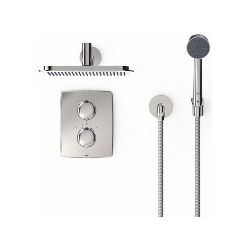 Potinkinė dušo sistema Oras Optima 7139 su termostatiniu maišytuvu