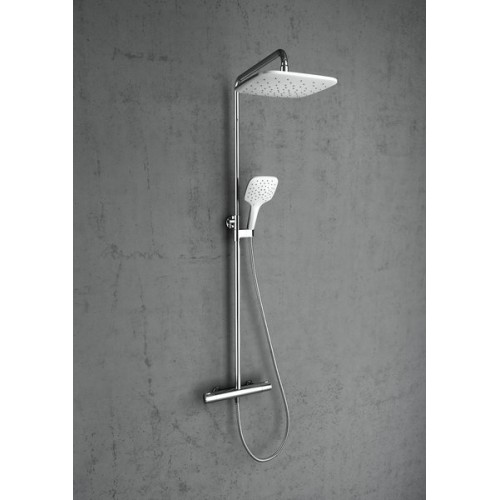 Ravak dušo sistema TE 093.00/150 Termo 300 su termostatiniu maišytuvu ir dušo komplektu