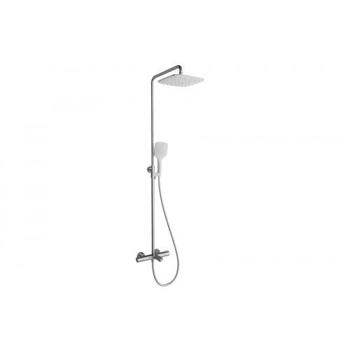 Ravak dušo sistema TE 092.00/150 Termo 300 su termostatiniu vonios maišytuvu ir dušo komplektu